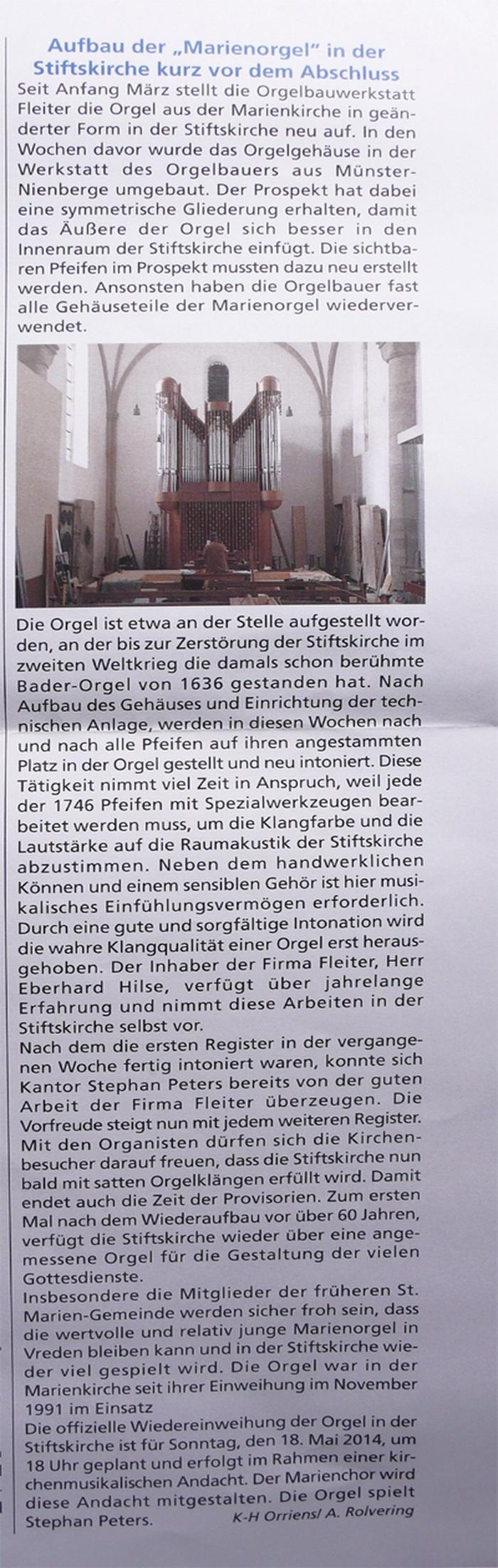 Vredener Kirchen-Anzeiger 09.04.2014