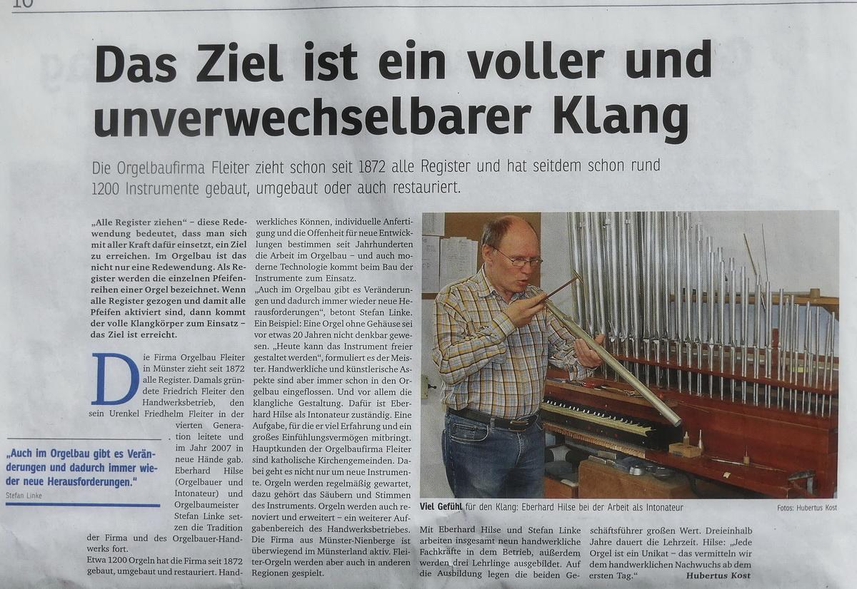 Eberhard Hilse und sein unverwechselbarer Klang